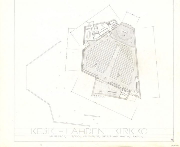 Ground plan, Church of the Cross