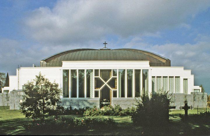 Eastern facade, Lieksa Church