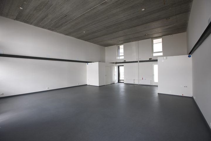 100 m2 unit before interior works, Tila Loft Housing