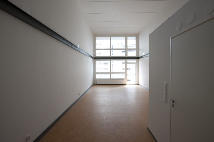 50 m2 unit before interior works, Tila Loft Housing