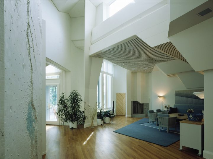 Living room, Mäntyniemi, Residence of the President of Finland