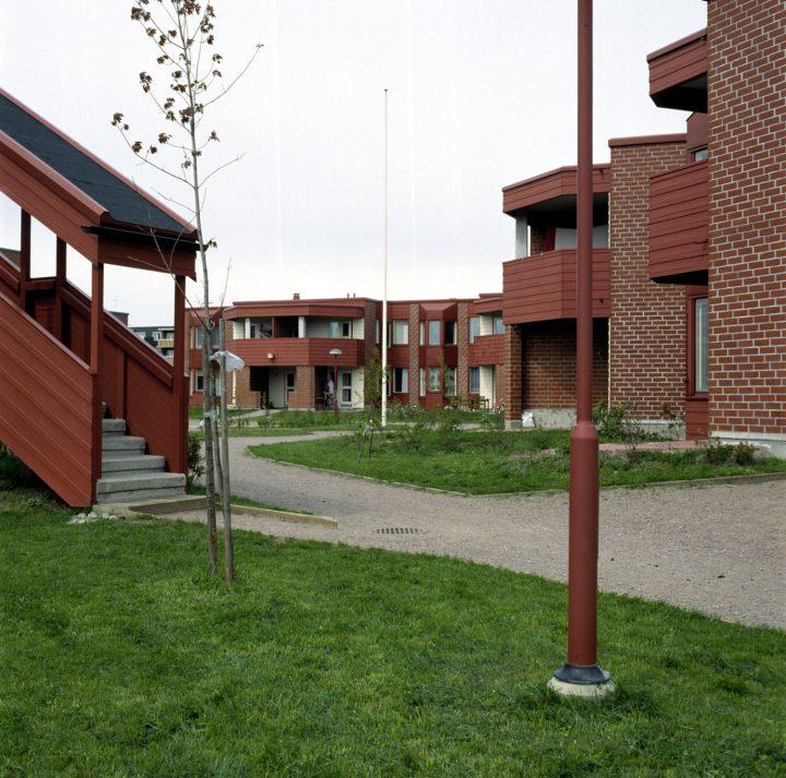 Courtyard, Malminkartano Experimental Housing