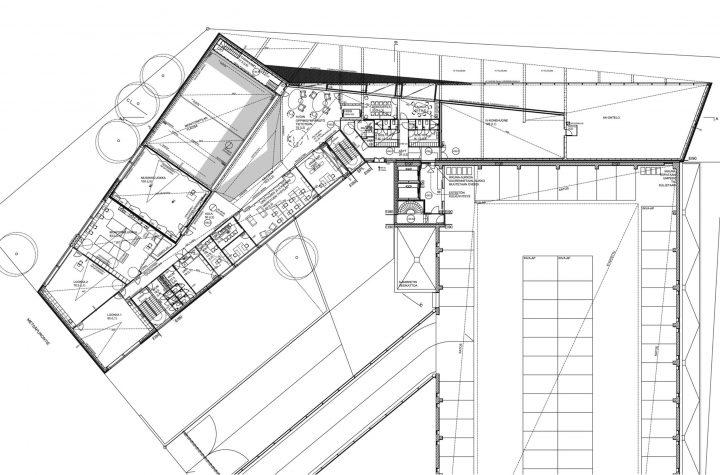 Top floor: adult education premises, Maunula Community Centre