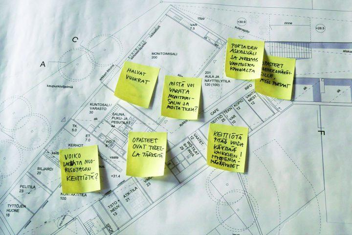 Questions raised by a design workshop, Maunula Community Centre