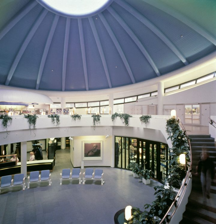 Entrance hall, Tampere Main Library Metso