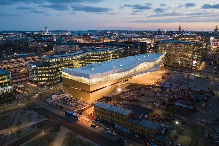 Photo taken in December 2018, Helsinki Central Library Oodi