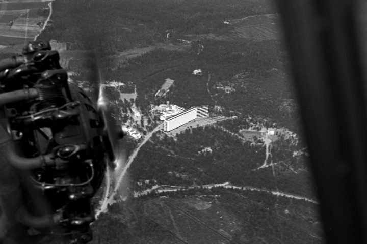 Aerial photo, Paimio Sanatorium