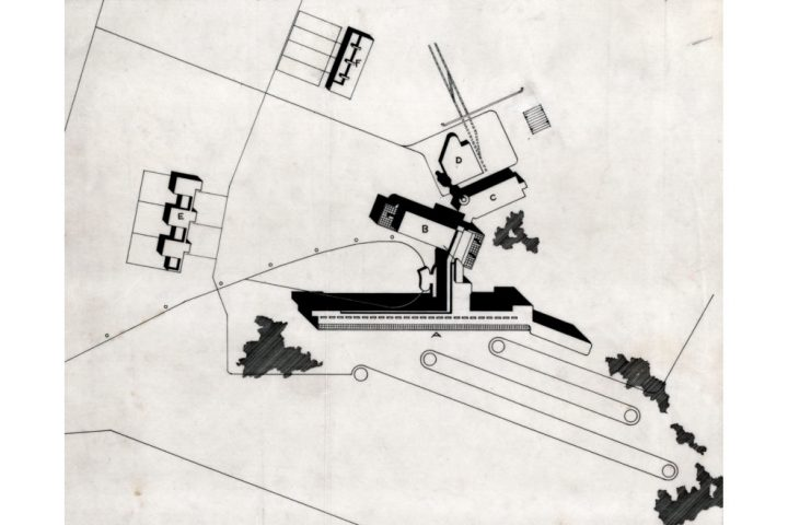 Site plan, Paimio Sanatorium