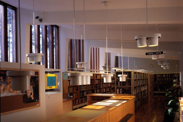 Library, Säynätsalo Town Hall