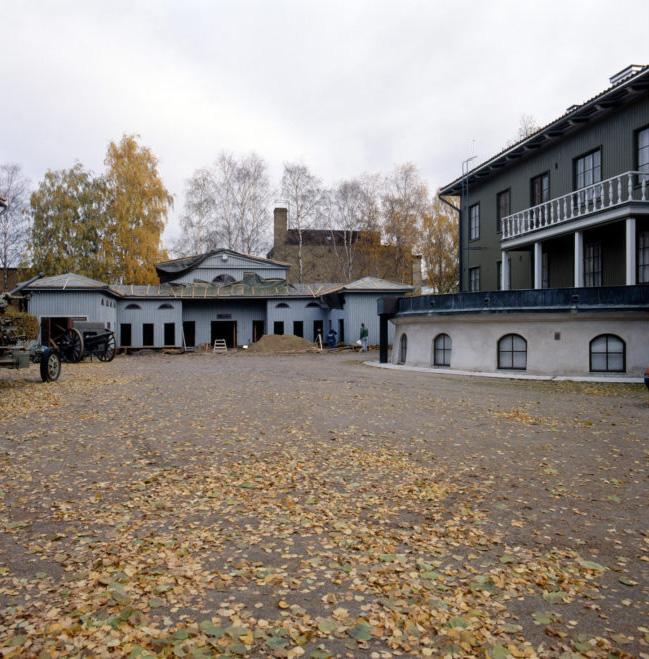 Courtyard, The Seinäjoki Defence Corps Building