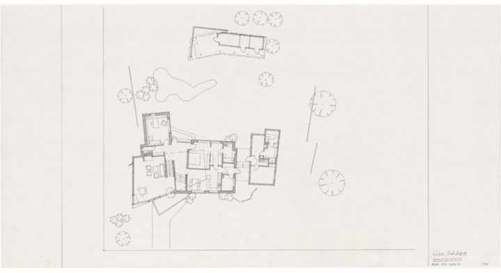 Ground plan, Villa Skeppet