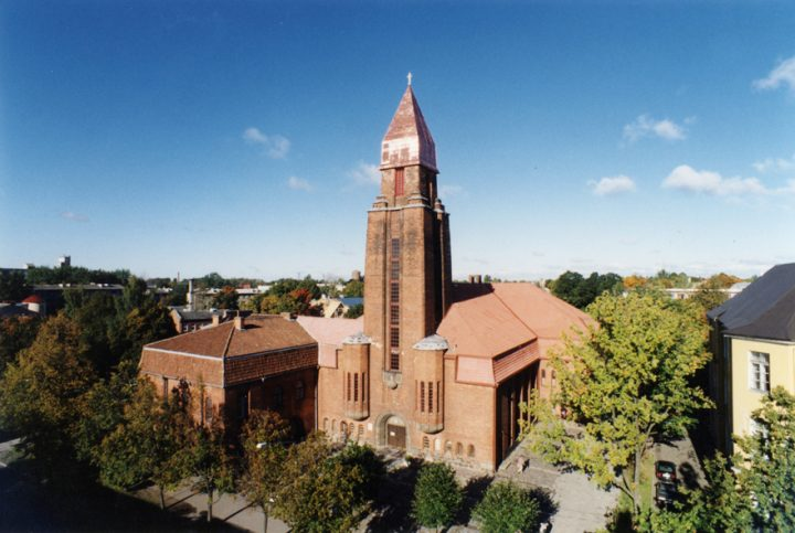 Photo from 2001, St Paul's Church