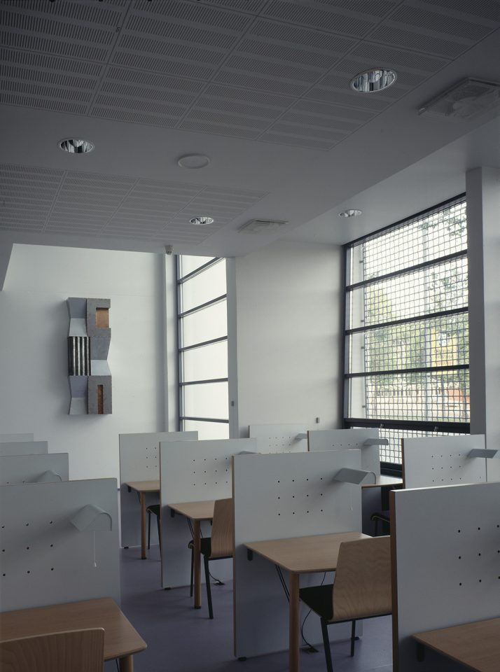 Ground floor reading room, Joensuu City Library
