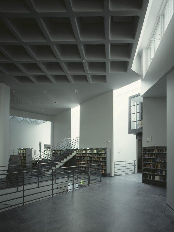 1st floor lending section, Joensuu City Library