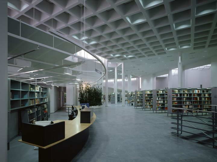 Book hall, Joensuu City Library