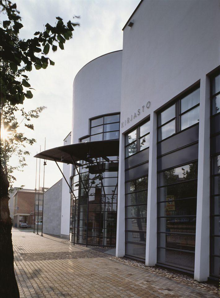 Main entrance, Joensuu City Library