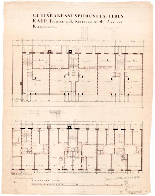 Floor plan, Standard Apartment House