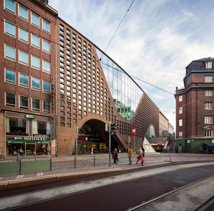 Kaisa House seen from Kaisaniemenkatu street., Helsinki University Main Library Kaisa