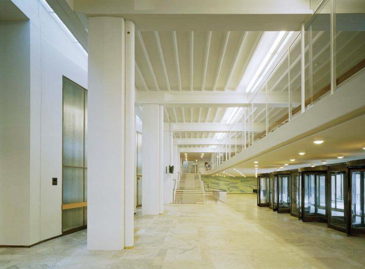 Entrance lobby, Helsinki University Porthania Building