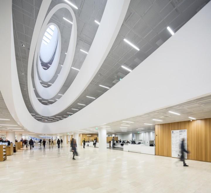 Main lobby., Helsinki University Main Library Kaisa
