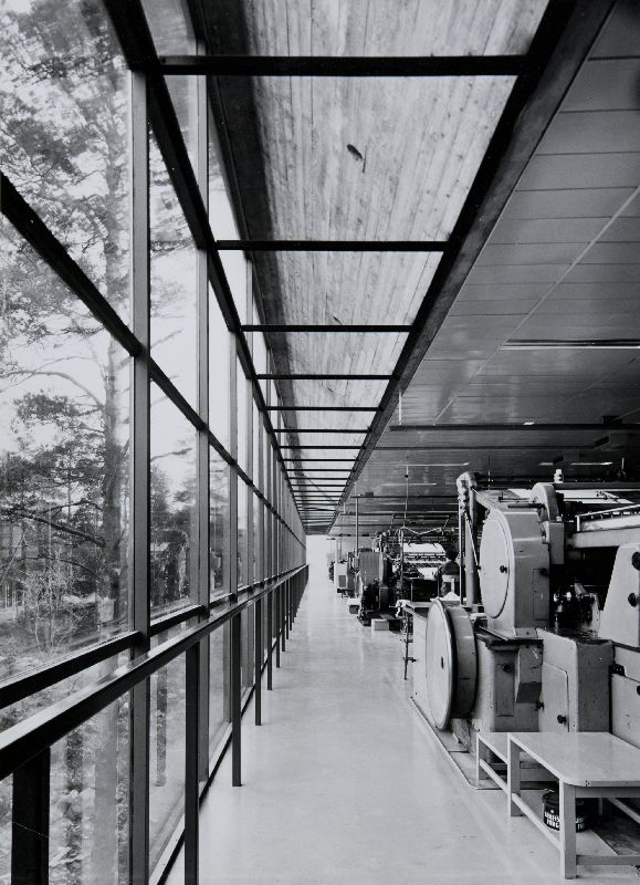 Interior, The WeeGee Exhibition Centre (Weiling & Göös Printing House)