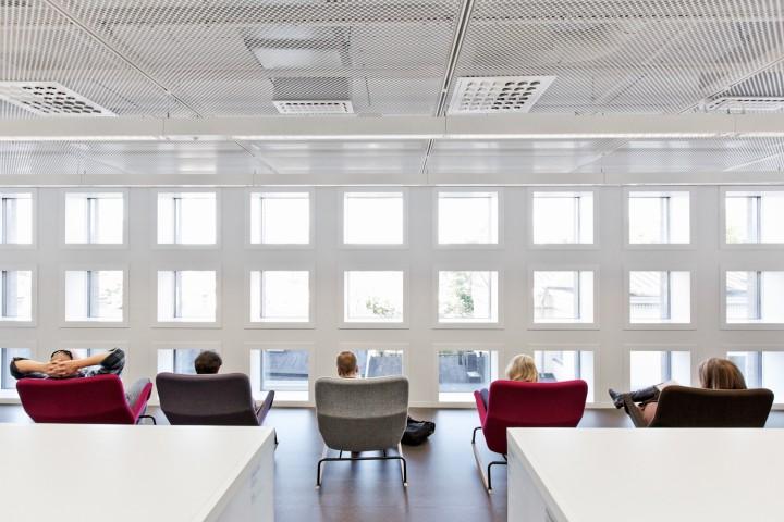 Reading area., Helsinki University Main Library Kaisa
