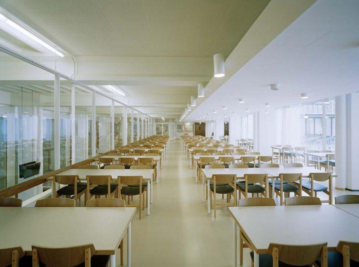Student restaurant, Helsinki University Porthania Building