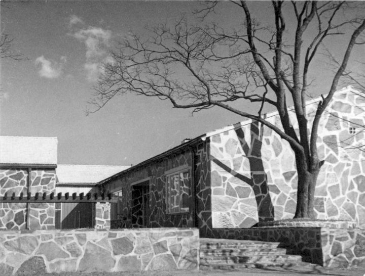 Main entrance, Lohja Parish Hall