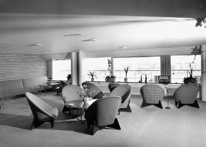 Original furniture, 1950s, Hotel Palace