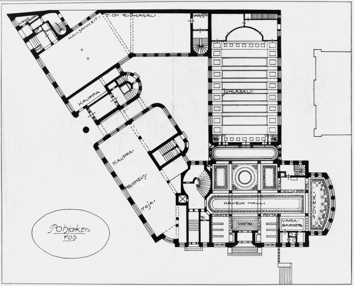 Ground floor, New Student House