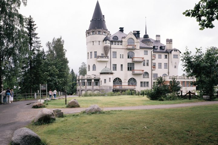Northeast façade, The State Hotel