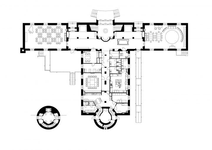Ground floor, Töölö Church