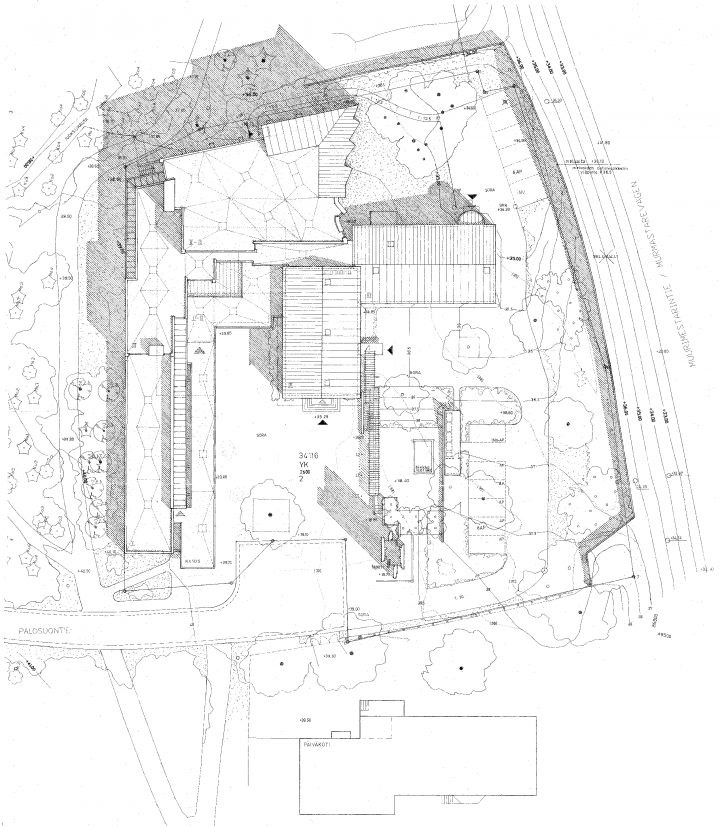 Site plan, Church of the Good Shepherd