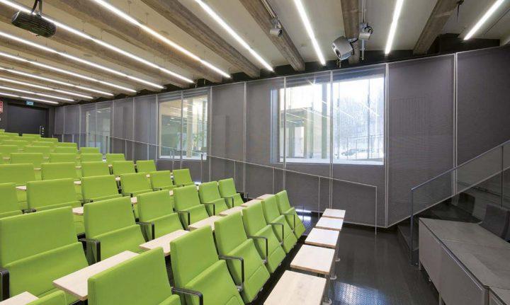 Lecture hall, Åbo Akademi University ASA Building