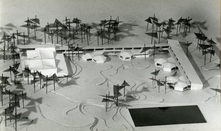 Scale model, Tapiola Co-educational School