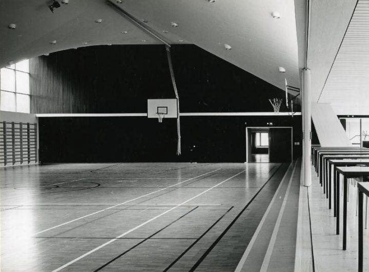 Gymnastics hall, Tapiola Co-educational School