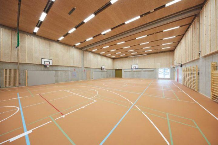 Gymnastics hall, Aurora School