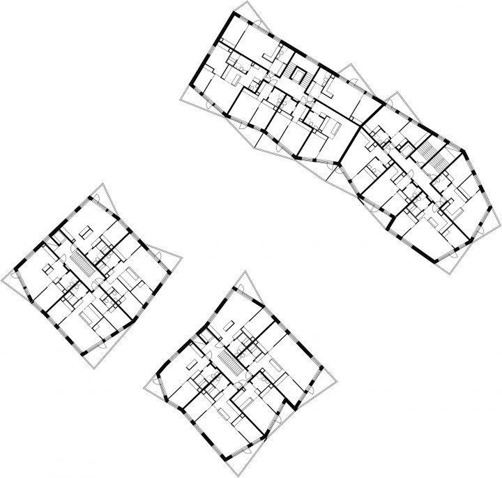 Typical floor, Toukoranta Housing