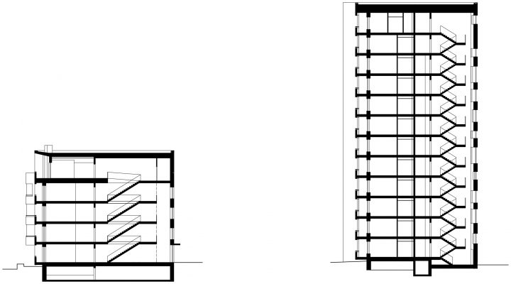 Section, Toukoranta Housing
