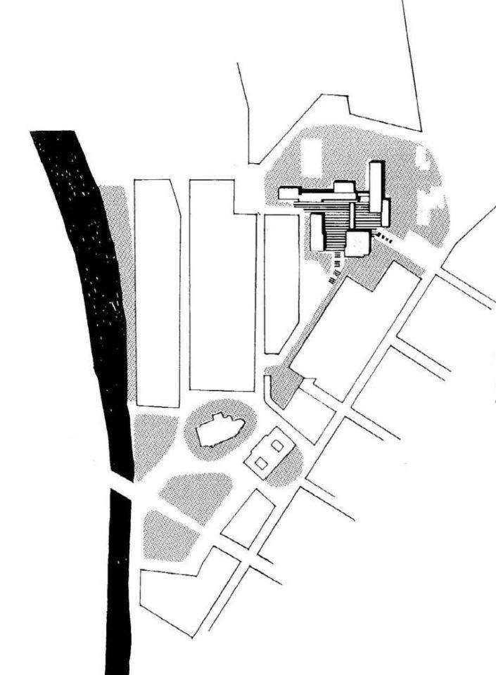 Site plan, University of Turku Main Campus