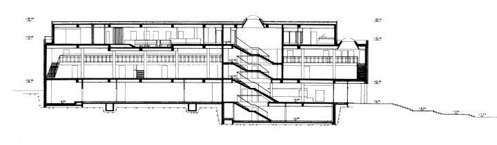 Section, Töölö Library