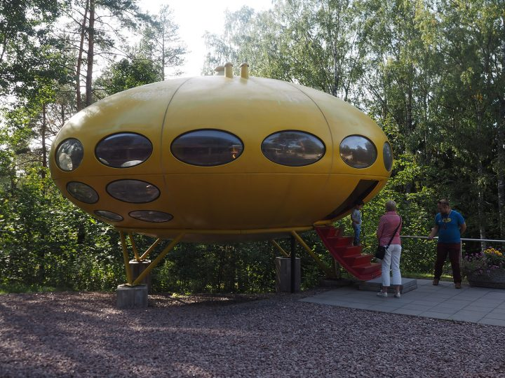 Futuro House is open for public in the summer time , Futuro House