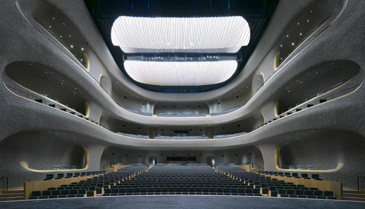 Opera hall, Fuzhou Strait Culture and Art Centre