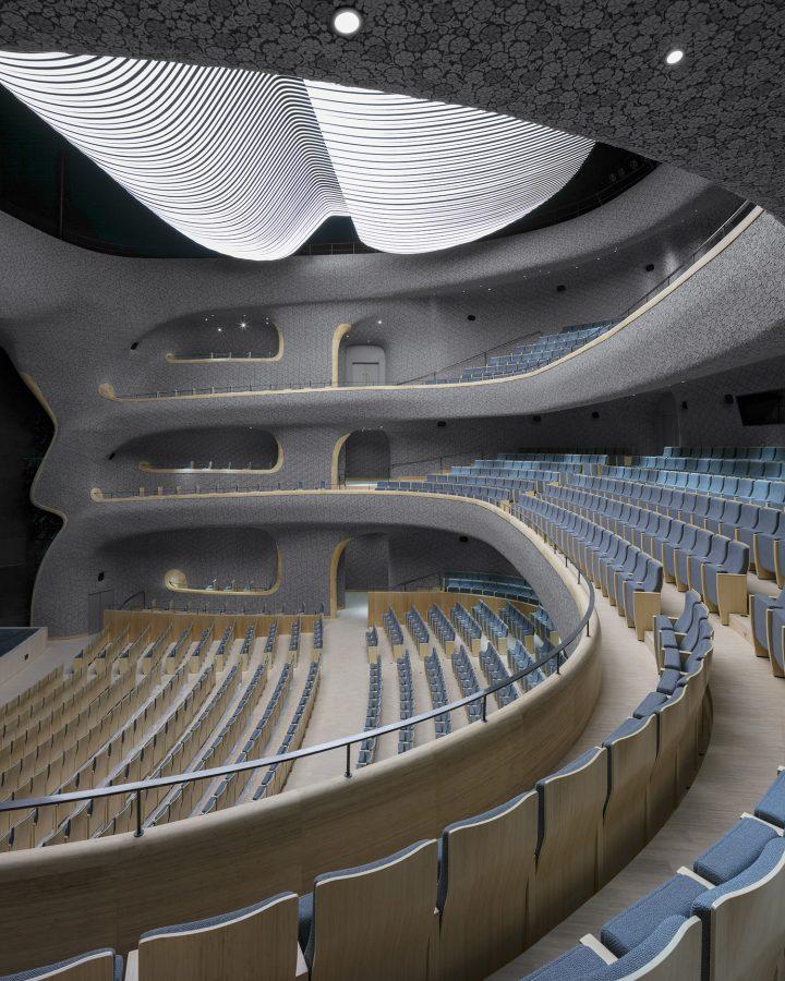 Opera hall balcony, Fuzhou Strait Culture and Art Centre