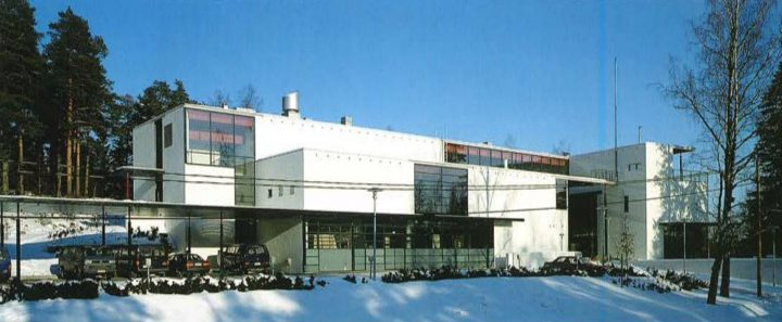 View from the south, Finnish Geospatial Research Institute