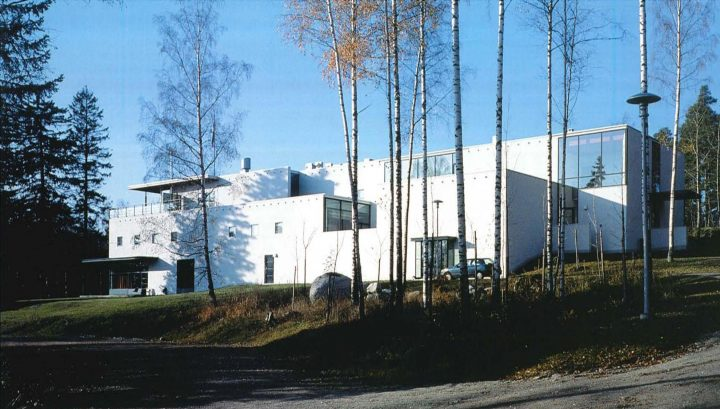 East elevation, Finnish Geospatial Research Institute