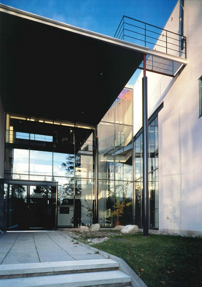 Main entrance, Finnish Geospatial Research Institute