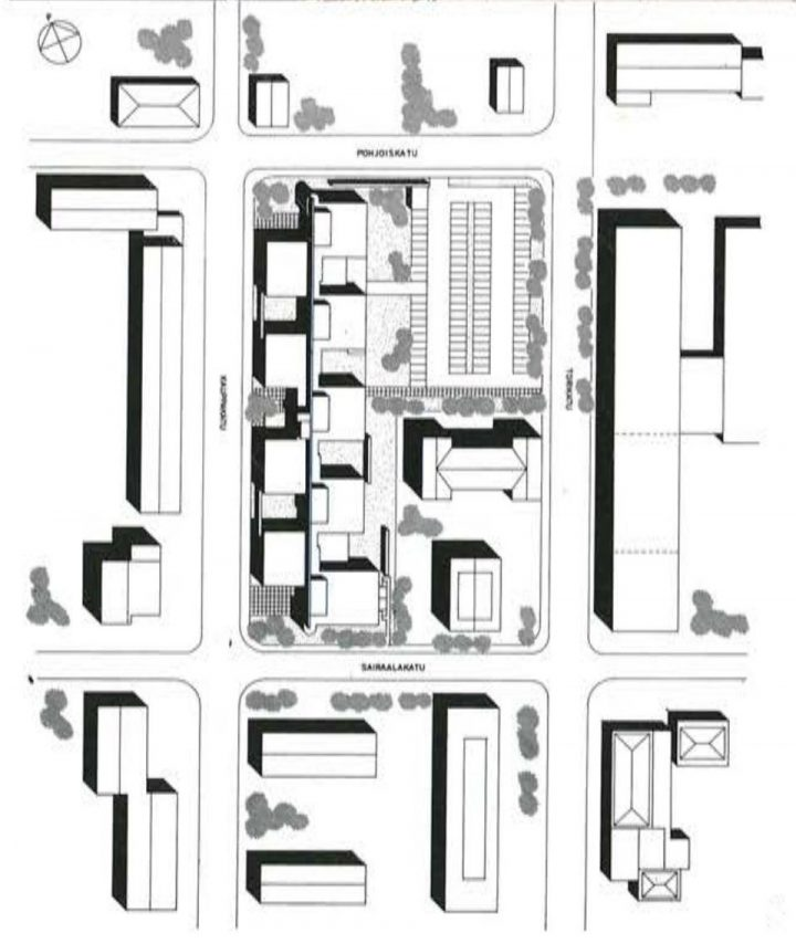 Site plan, Government Office Building