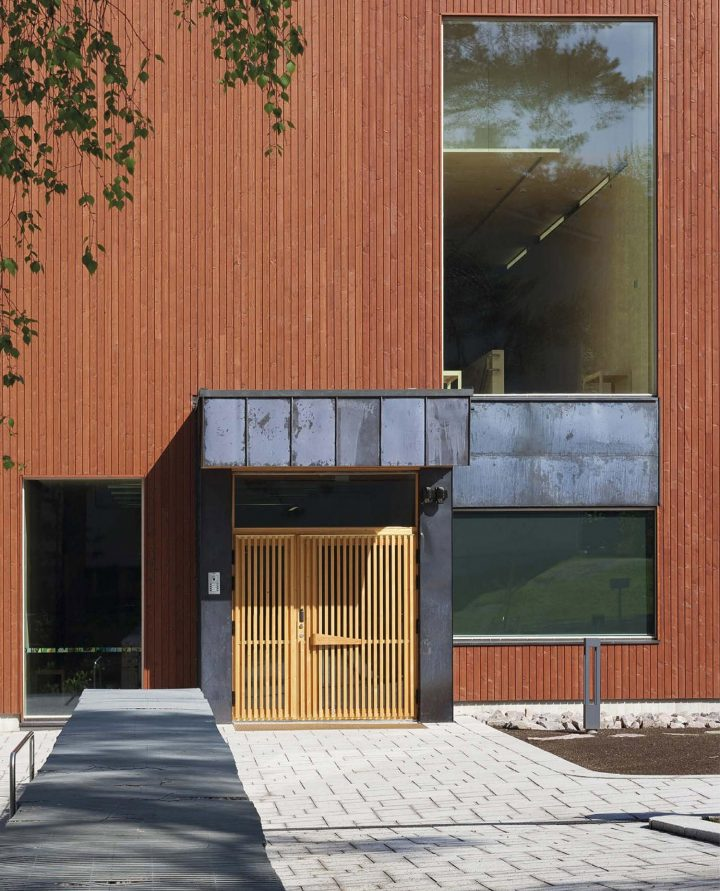 Main entrance, The Finnish Nature Centre Haltia