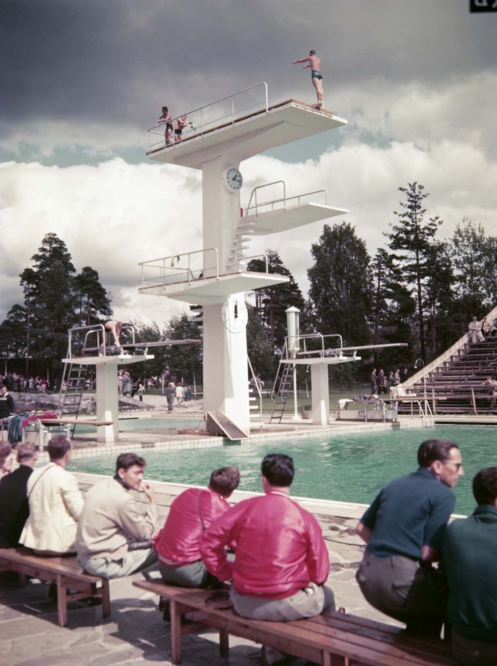 Helsingin Olympics 1952 diving competition, Helsinki Swimming Stadium